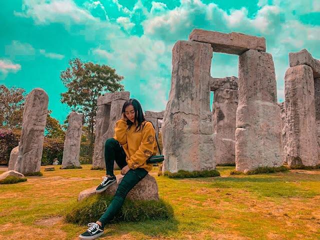 Wisata Stonehenge Merapi Jogja Replika Wisata Stonehenge Inggris Eksotis Jogja