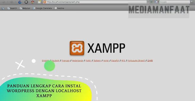 Cara Menginstal WordPress Dengan Localhost Xampp