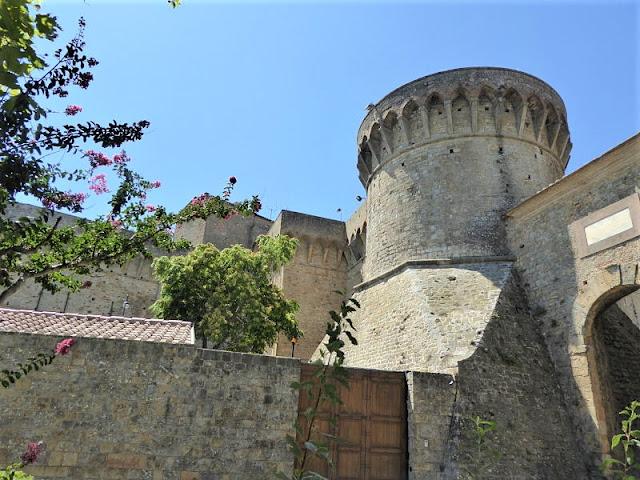 rocca vecchia della fortezza medicea di Volterra