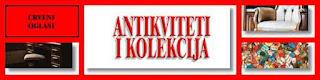 - ANTIKVITETI I KOLEKCIJE - CRVENI OGLASI