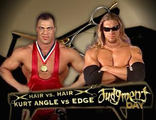 WWE Judgement Day 2002 - Edge vs. Kurt Angle