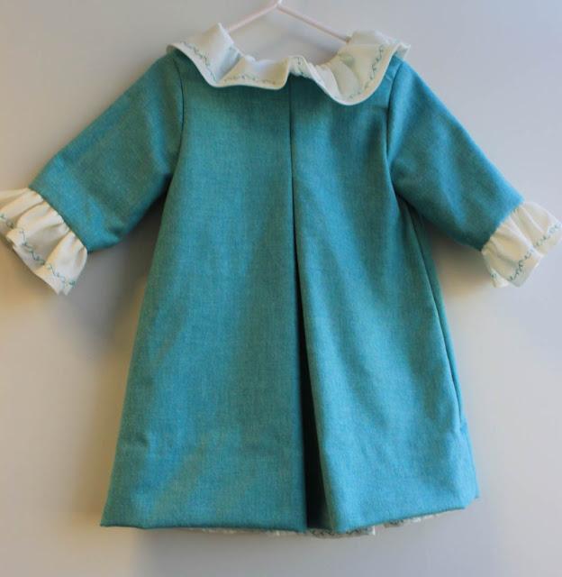 Vestido verdeagua