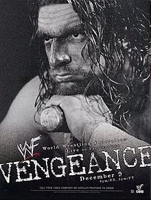 WWE / WWF Vengeance 2001 - Event poster