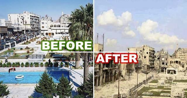 Libya before and after gadaffi and usa