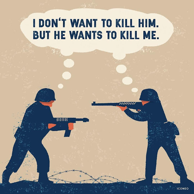 Iconeo: I dont want to kill him. But he wants to kill me.