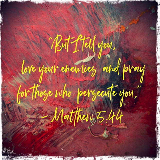 Matthew 5:44 Allen Pearson Photography