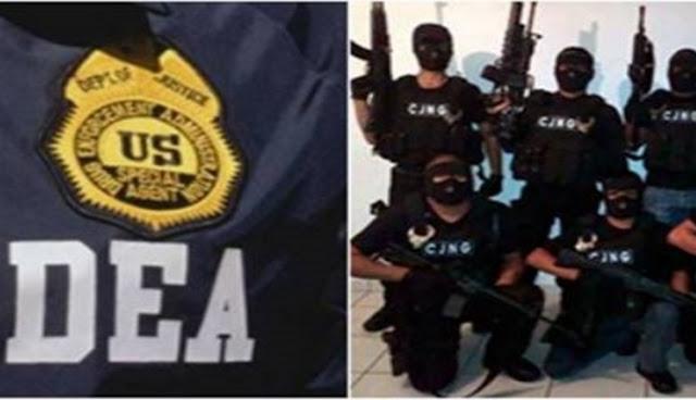 El CJNG, la más grande organización del narco esta en la mira de la DEA