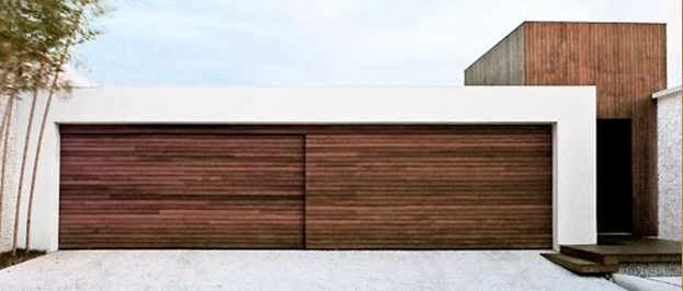 Contemporary Wooden Garage Doors picture