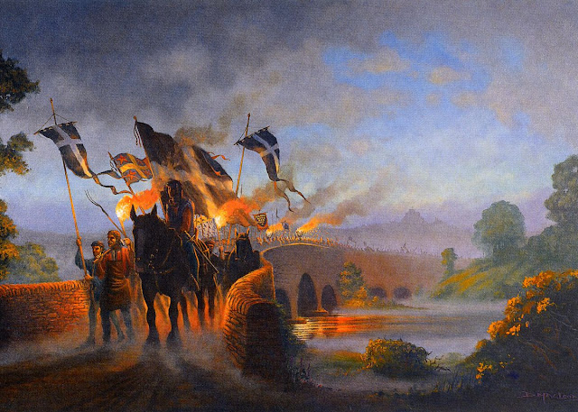 Crossing the Tamar - The Cornish Rebellion by Donald MacLeod