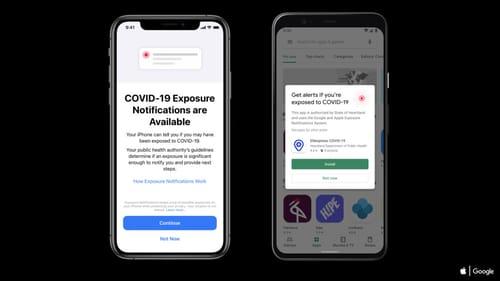 Apple starts running iOS 13.7 with a Corona notification