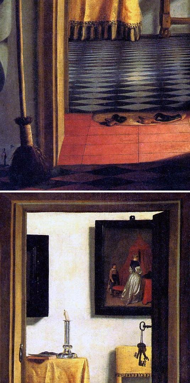 Samuel van Hoogstraten - Vista de un corredor
