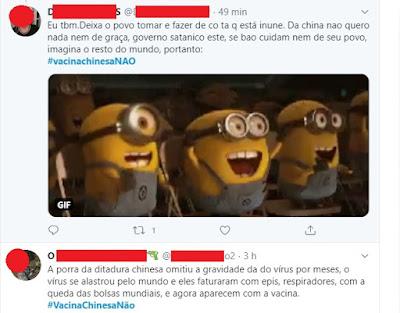 Minions atacam vacina anunciada por Doria. Café com Jornalista