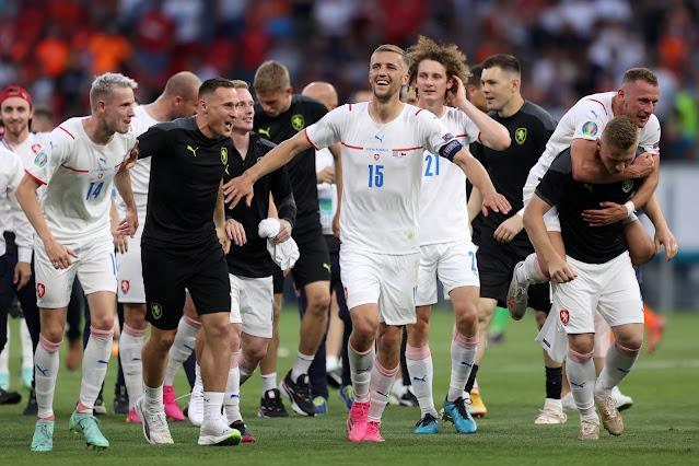 Czech Republic players - Euro 2020