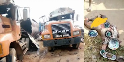 Tanker Explosion: Welder Killed While Working On Fuel Tanker In Anambra