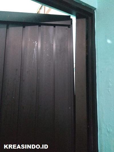 Servis Pintu Aluminium Kamar Mandi di Rumah Bu Diyah Di Pondok Swadya Cilodong Depok