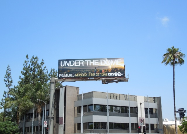 Under the Dome series premiere billboard