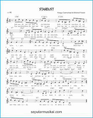 stardust lagu jazz standar