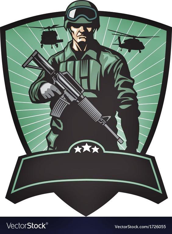 Gambar Logo Mentahan Squad PUBG Polos Keren Siap Edit ...