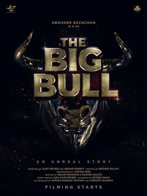 The Big Bull Movie First Poster