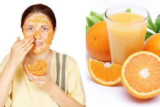 benefits of orange juice for the skin