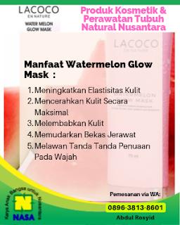 krim wajah semangka