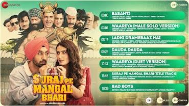 LADKI DRAMEBAAZ HAI (लड़की ड्रामेबाज़ हैं Lyrics in Hindi) - Suraj Pe Mangal Bhari