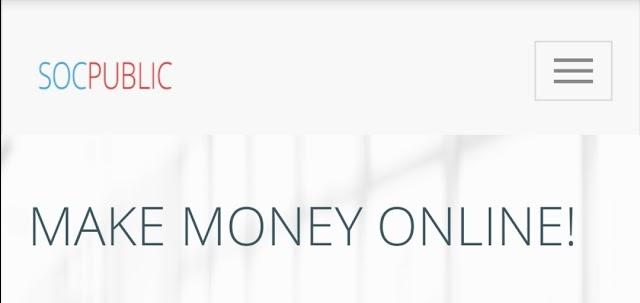 Socpublic website থেকে Unlimited Website Visit করে ইনকাম করুন