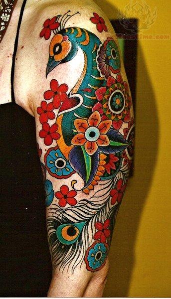 Peacock Tattoo: Peacock Bird Tattoos