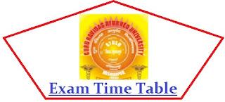GRAU Punjab Exam Date Sheet 2021