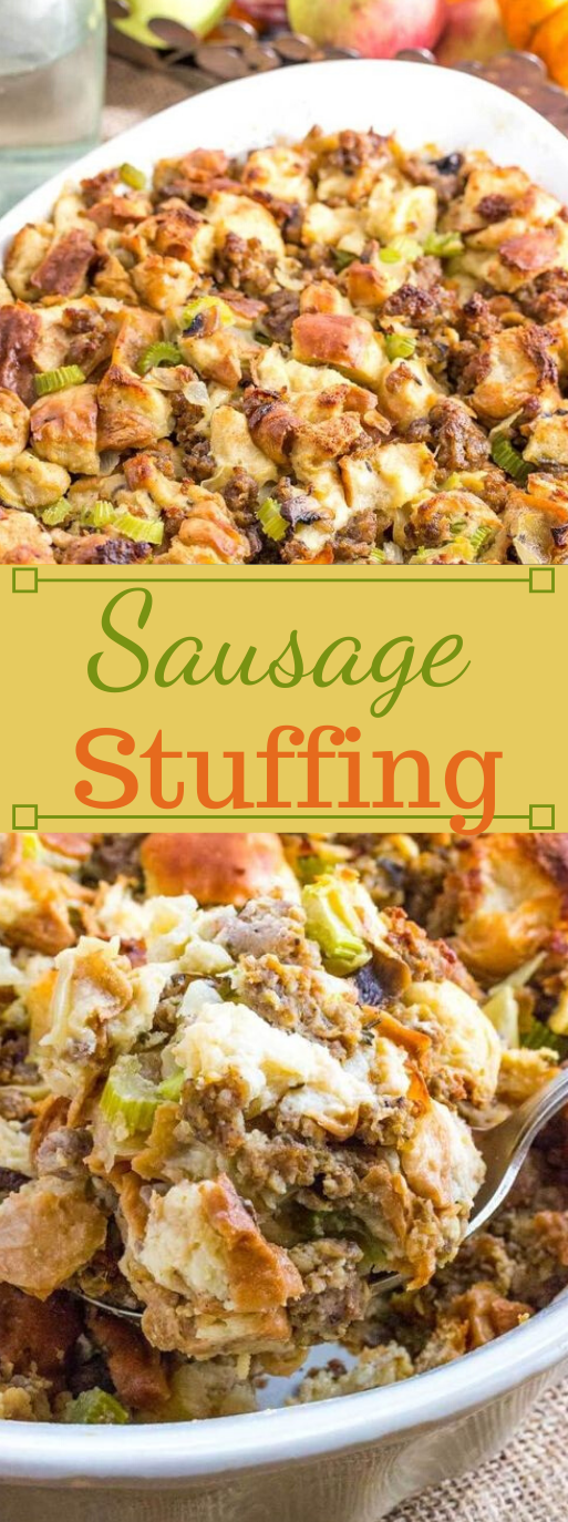 Sausage Stuffing #healthydinner #easy #lunch #sausage #recipes
