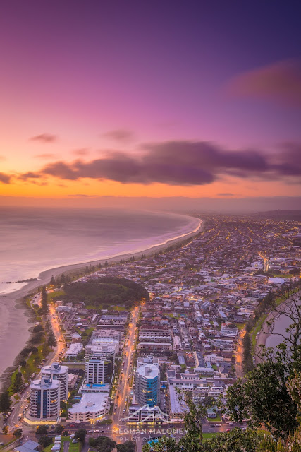 colourful dawn mount maunganui