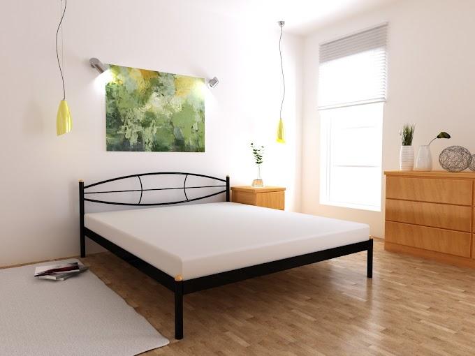 Кровать металлическая Аура 120х190/200  ТМ MegaOpt