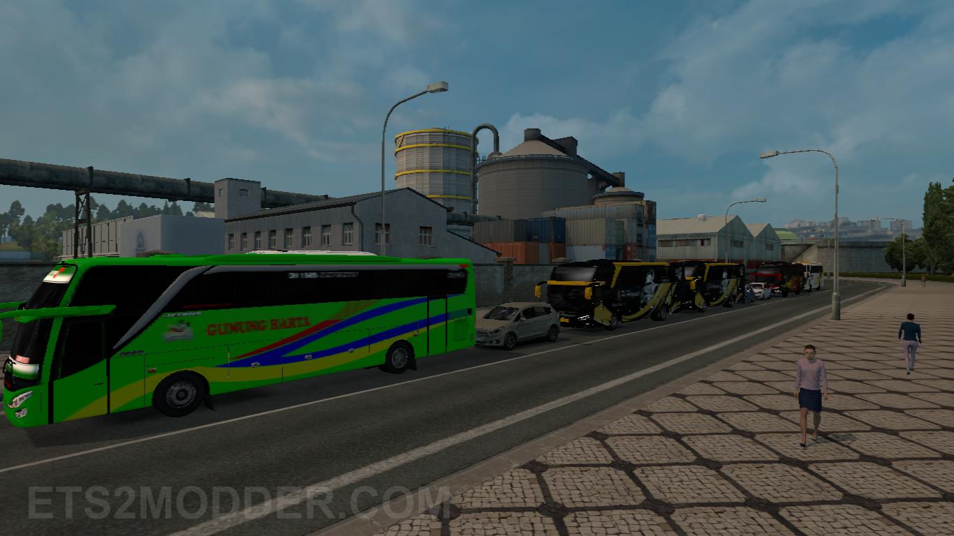 Traffic Pack v2 FPS - Mod ETS2 Indonesia