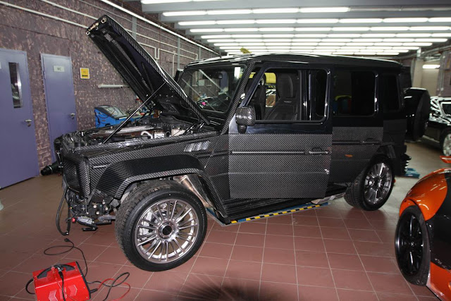 mercedes g55 performance tuning