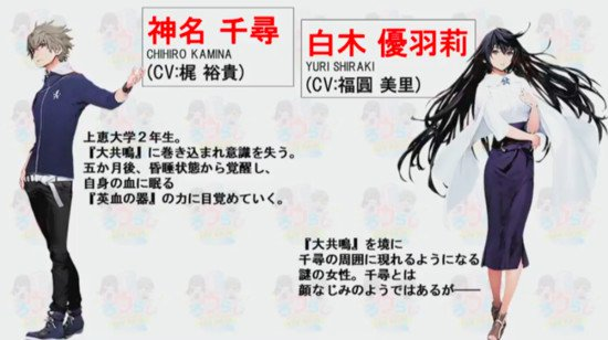 Anime 'Lord of Vermilion' Ungkapkan Daftar Seiyuu