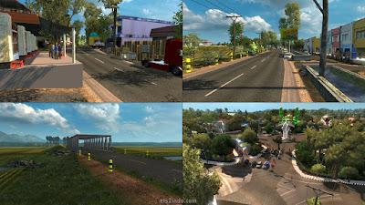 Map Madura V1 by Jay Ho ETS2 v1.30