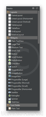 Android Studio - Interfaz Visual