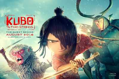 Kubo and the Two Strings (2016) Dual Audio Hindi 300mb HD MKV