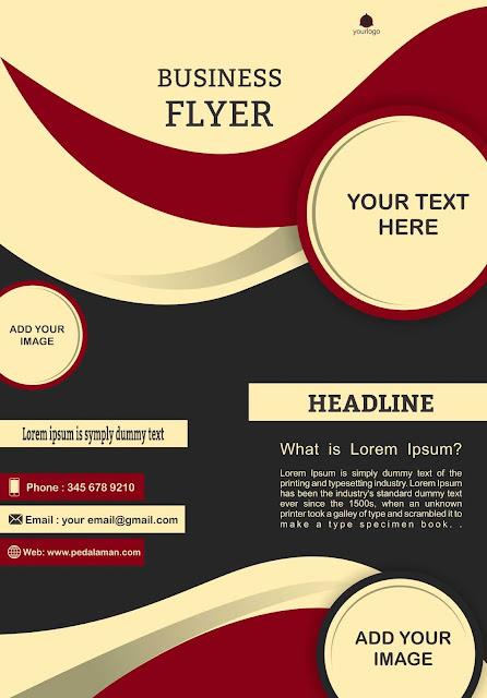 Membuat Business flyer