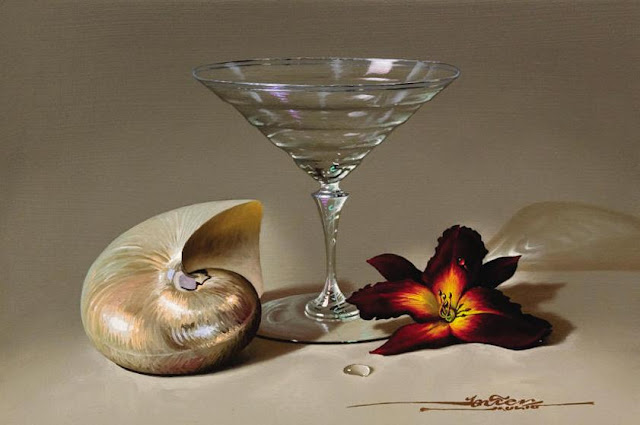 Still Life Paintings By Javier Mulio