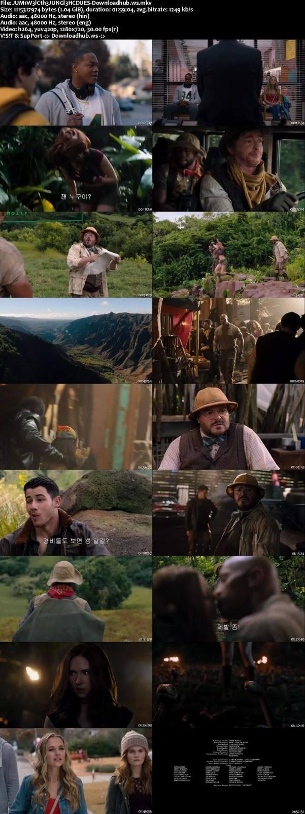 Jumanji Welcome to the Jungle 2017 Hindi Dual Audio 720p HC HDRip Download