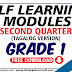 ADM SELF LEARNING MODULES Q2 GRADE 1