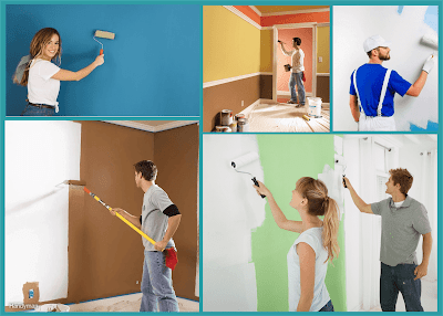 pintar paredes nuevas y cambio de color