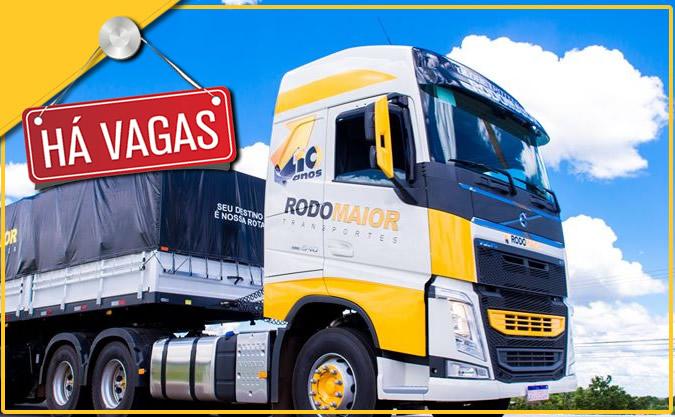 Rodomaior Transportes abre vagas para Motorista