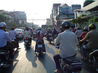 Conducir moto por Vietnam