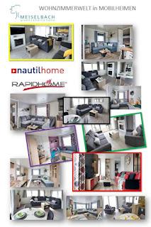 Wohnzimmerbilder Mobilheim Meiselbach