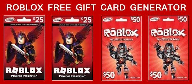 Roblox Gift Card Generator & Redeem Codes 2021