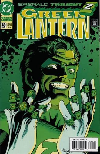 Hal Jordan se convirtió en Parallax