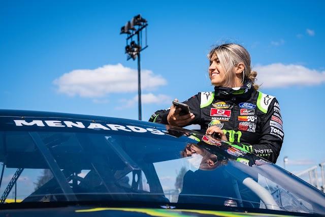 Hailie Deegan debutará en NASCAR Trucks el sábado en Kansas