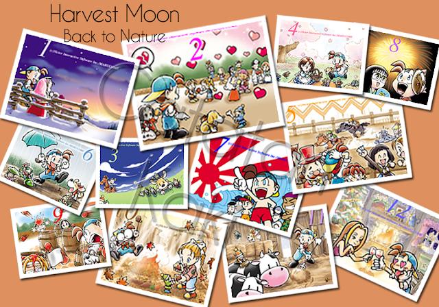 Kalender Festival dan Ulang Tahun di Harvest Moon Back to Nature